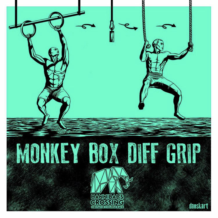 Hannibal crossing - obstacle_monkey-box-diff-grip-OCR